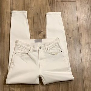 Everlane Jeans - Everlane White Ankle Jeans High Rise Size 27